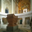 <p>The coffin of Napoleon - Invalides - Paris</p>