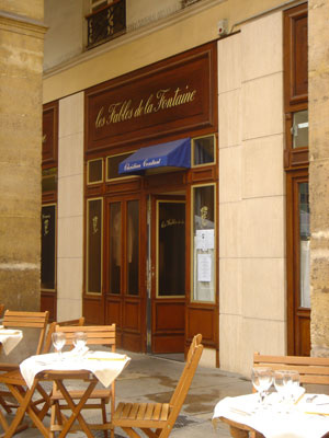 Les Fables De La Fontaine Restaurant Paris Carte