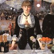 <p> <b>Édouard Manet'</b>s A Bar at the Folies Bergère</p>