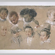 <p>Studies by Antoine Watteau - Paris Louvre</p>
