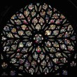 <p>Rose window of La Sainte Chapelle - Paris</p>