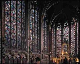 Sainte Chapelle In Paris France