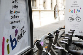 Bike hire in Paris with Velib