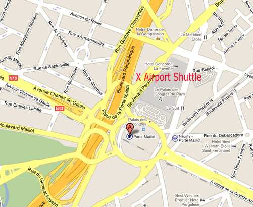Paris beauvais arrivals and departures by shuttle - Beauvais paris porte maillot ...