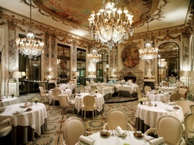 Le Meurice Restaurant in Paris