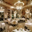 <p>Le Meurice Restaurant in Paris</p>