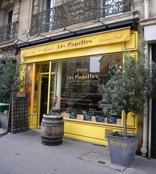 les papilles wine bar in paris paris restaurant les papilles. Black Bedroom Furniture Sets. Home Design Ideas