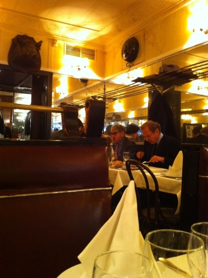 Savy Restaurant In Paris France