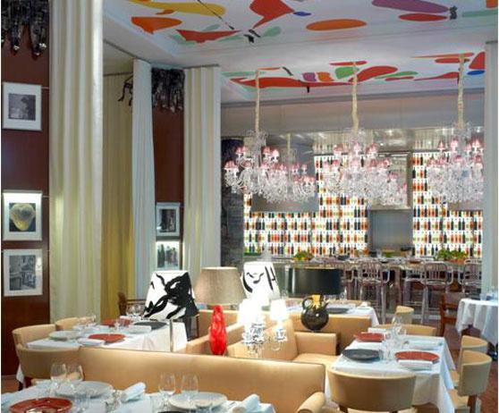 La cuisine restaurant at the royal monceau hotel in paris france - Restaurant cuisine francaise paris ...