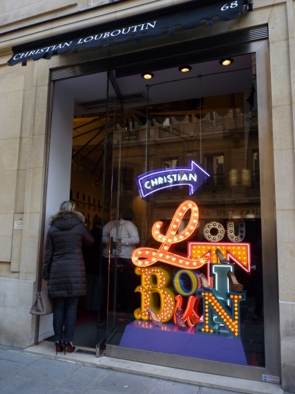 la boutique louboutin paris