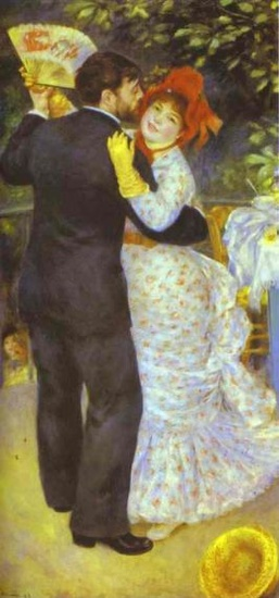 Orsay Museum: Dance in the Country, Auguste Renoir