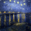 <p><b>Orsay Museum:</b> Starry Night Over the Rhone, Vincent van Gogh</p>