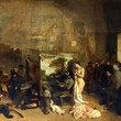 <p><b>Orsay Museum:</b> The Artist's Studio, Gustave Courbet</p>