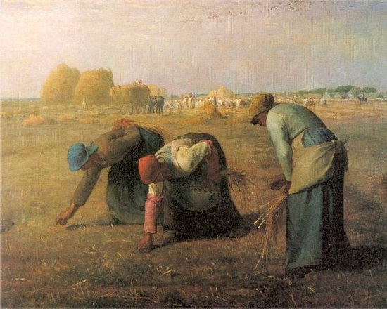Orsay Museum: The Gleaners, Jean-François Millet