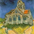 <p><b>Orsay Museum:</b> The Church at Auvers, Vincent van Gogh</p>