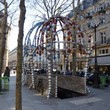 <p><b>The Palais-Royal</b>, Paris: <i>Metro station</i> in Place Colette, by <i>Jean-Michel Othoniel</i></p>