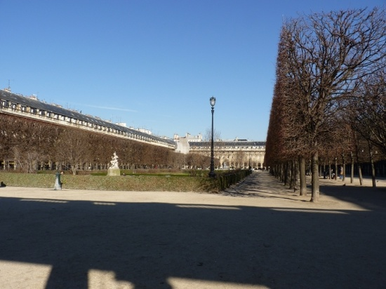 The Palais-Royal, Paris: The Garden