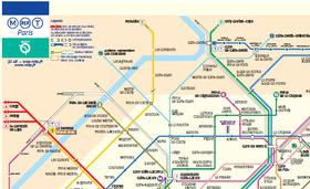 Paris Travel Kit Paris Metro Map To Print RER Map Paris City Map - Paris metro map print