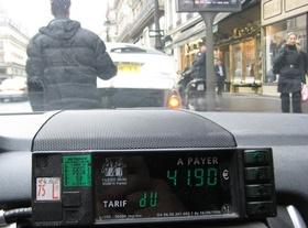 Taxi Fares In Paris