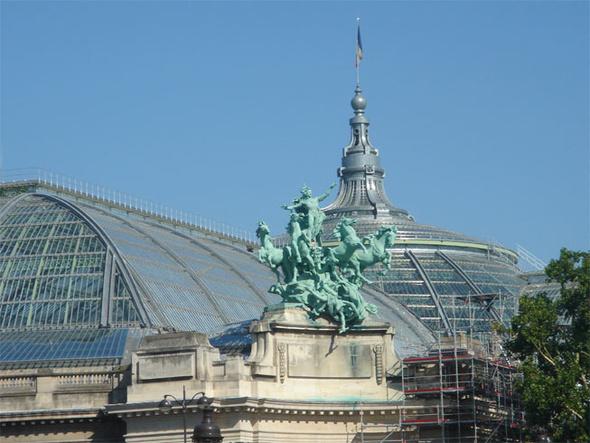 grand palais paris the grand palais in paris. Black Bedroom Furniture Sets. Home Design Ideas