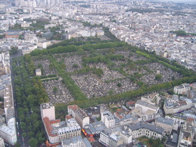 Montparnasse Cemetery in Paris