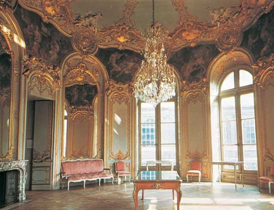 Hotel de soubise paris museum of the history of france for Salon a paris