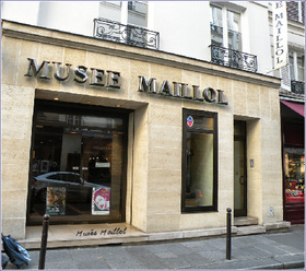 Maillol Museum in Paris