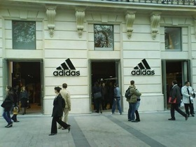 Adidas Performance Store - Paris
