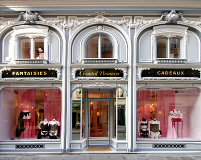 Chantal thomas paris chantal thomas for the luxury lingerie lovers in paris - Paris shopping boutiques ...