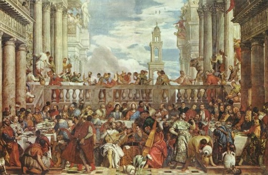 Louvre Museum The Wedding Feast Of Cana Paolo Veronese Louvre Museum Art Collection Pictures